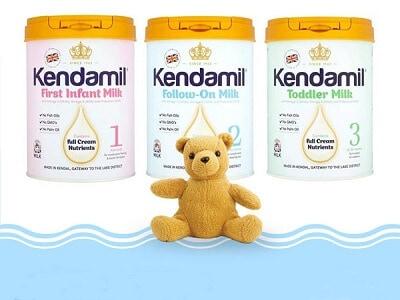 Sữa Kendamil nguyên kem