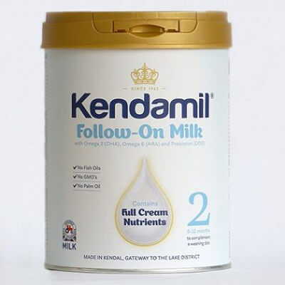 Sữa Kendamil nguyên kem số 2: Follow-On Milk