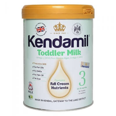 Sữa Kendamil nguyên kem số 3: Toodler Milk