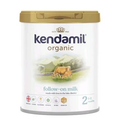Sữa Kendamil Organic số 2: Follow on milk