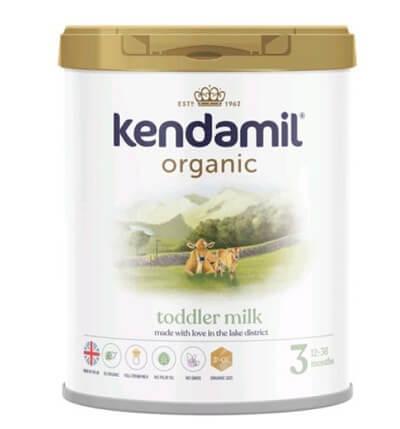 Sữa Kendamil Organic số 3: Toddler milk