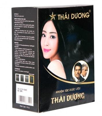 Thành phần thuốc nhuộm tóc Thái Dương