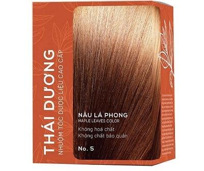 Thiết kế bao bì thuốc nhuộm tóc thời trang Thái Dương