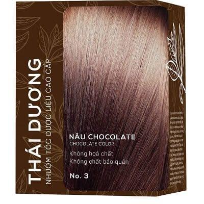 Cách dùng thuốc nhuộm tóc thời trang Thái Dương