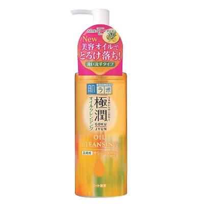 Dầu Tẩy Trang Dưỡng Ẩm Hada Labo Gokujyun Cleansing Oil 200ml