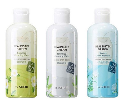 Thiết kế kết cấu nước tẩy trang The Saem Healing Tea Garden Cleansing Water