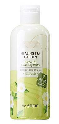 The Saem Healing Tea Garden Green Tea Cleansing Water (Màu xanh lá cây)
