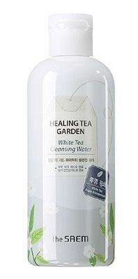 The Saem Healing Tea Garden White Tea Cleansing Water (Màu trắng)