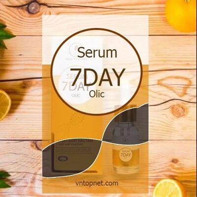 Serum 7 Day Olic có phải kem trộn không?
