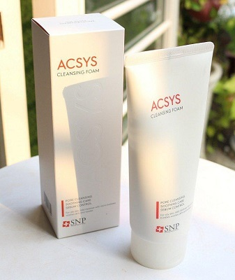 Thành phần sữa rửa mặt Acsys Cleansing Foam