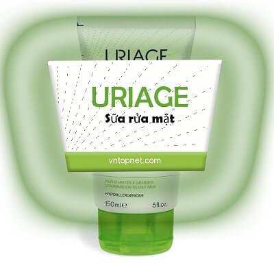 Hướng dẫn sử dụng sữa rửa mặt Uriage
