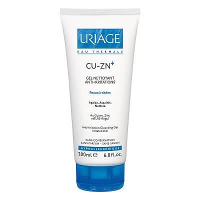 Uriage Cu-Zn+ Gel Nettoyant Anti-Irritations