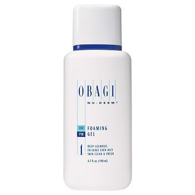 Gel rửa mặt Obagi Nu-Derm Foaming Gel ( cho da dầu )