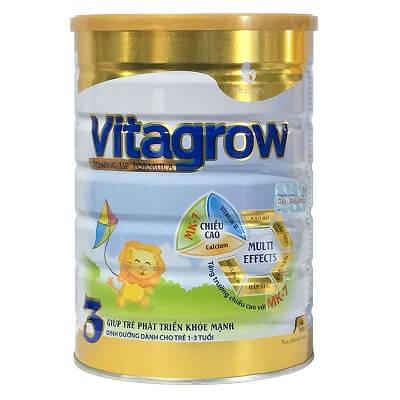 Sữa VitaGrow 3 cho trẻ từ 1-3 tuổi