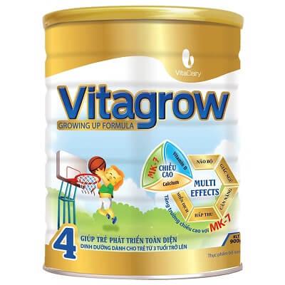 Sữa VitaGrow 4 cho trẻ từ 3 tuổi trở lên