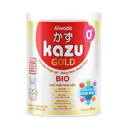 Sữa Kazu Gold Bio 0+ (cho trẻ từ 0 đến dưới 1 tuổi)