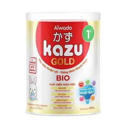 Sữa Kazu Gold 1+ (cho trẻ từ 1 đến dưới 2 tuổi)